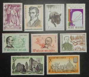 Belgium 864-85. 1974 Various commemoratives