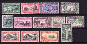 NEW ZEALAND  1940  CENTENNIAL  SET 13  FU