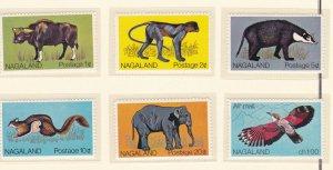 Nagaland - Animal & Bird Stamps, NH