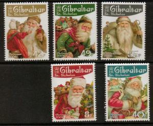 GIBRALTAR SG1185/9 2006 CHRISTMAS MNH
