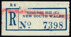 New South Wales Registration Label