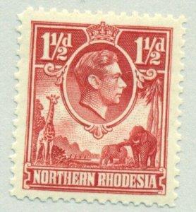 NORTHERN RHODESIA #29, Mint Hinged, Scott $27.50