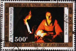 Cameroun. 1976 500f. S.G.780 Fine Used