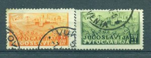 Yugoslavia  sc# B145-148 used cat value $4.00