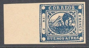 ARGENTINA  An old forgery of a classic stamp................................C973
