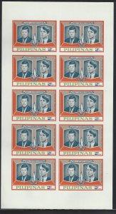IXB-XIIIB JFK/RFK Kennedy Memorial Imperf (Unissued) CV$124