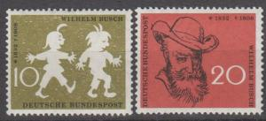 Germany #780-81 F-VF Unused  (ST1664)