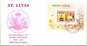 Saint Lucia, Royalty