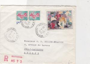 france 1961 fresnaye painting stamps cover ref 20843