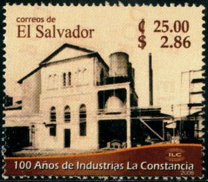HERRICKSTAMP SALVADOR Sc.# 1658 Constancia Brewery