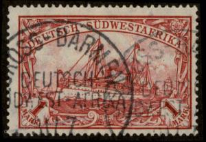 Germany SW Africa GROSS-BARMEN DSWA Wmk Yacht 89874