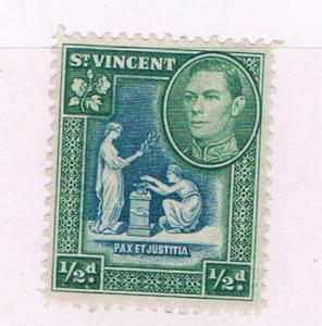 St Vincent 141 MLH Seal of the colony 1938 (S0917)