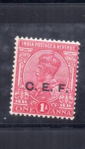 India Abroad CEF gv 1914 SGC25 1as   carmine   MM