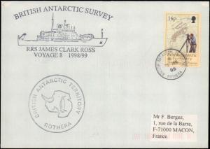 British Antarctic Territory #108, Antarctic Cachet and/or Cancel