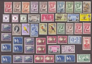 50 ALL DIFFERENT BECHUANALAND Stamps