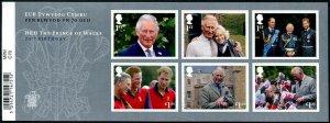 HERRICKSTAMP GREAT BRITAIN Sc.# 3801 Prince Charles 70th Birthday