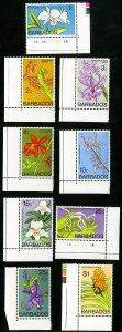 Barbados Stamps # 396a-408a MNH VF