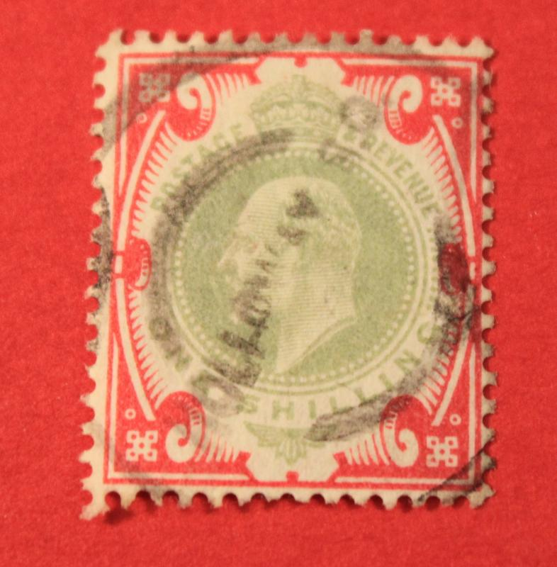 GREAT BRITAIN USED SCOTT # 138 KING EDWARD VII