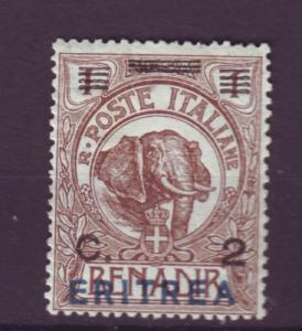 J12104 JL stamps 1922 italy eritrea mh from a set #81 elephant ovpt