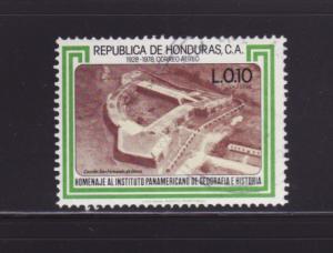 Honduras C677 U Fort San Fernando de Omoa (B)