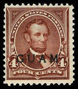 GUAM 4  Mint (ID # 68801)