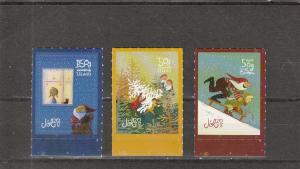 Iceland  Scott#  1453-5  MNH  (2017 Christmas)