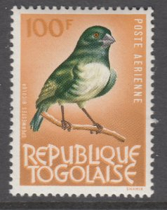 Togo C37 Bird MNH VF