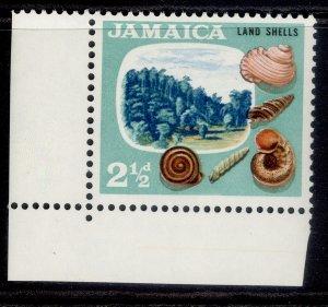 JAMAICA QEII SG220, 2½d, VLH MINT.