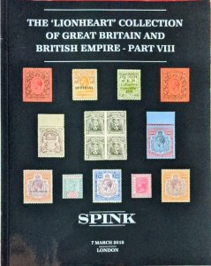 Auction Catalogue Lionheart GREAT BRITAIN & BRITISH EMPIRE