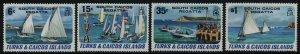 Turks & Caicos 463-6 MNH Yachts, South Caicos Regatta