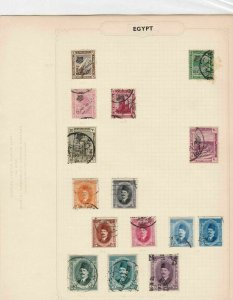 egypt stamps page ref 17066