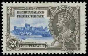 Bechuanaland Scott 118 Variety 1 Gibbons 112b Used Stamp
