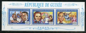 GUINEA 1991 NAT KING COLE, JUDY GARLAND & BING CROSBY COLLECTIVE SHEET MI