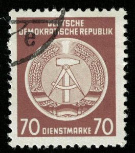 DDR, 1957-1960, 70 Pf., Coat of Arms (Т-6291)