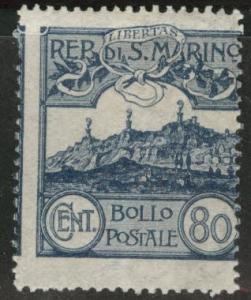 San Marino Scott 67 MH* 1921  stamp
