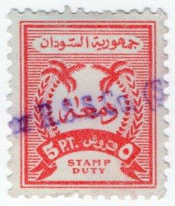 (I.B) Sudan Revenue : Stamp Duty 5pt