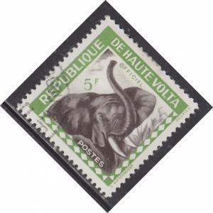 Burkina Faso O2 Elephant 1963