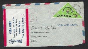 1965 Scouts Jamaica Girl Guides Libre Courier Service label