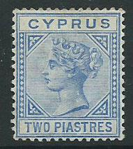 Cyprus SG 19 Mint Very Light Hinge Die II ( 45% Cat)