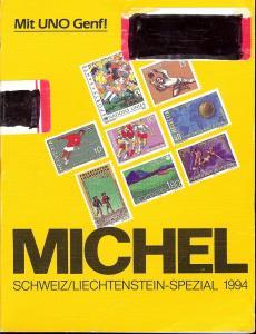 Michel - Schweiz/Lichtenstein-Spezial-Katalog 1994,