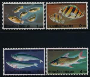 Thailand 849-52 MNH Fish