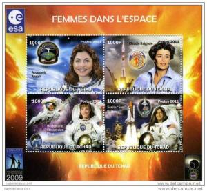 Chad 2011 Women in SPACE-Astronomy Year Perforated mnh.vf #1