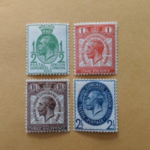 Great Britain 205-8 complete set, F-VFNH, CV $35