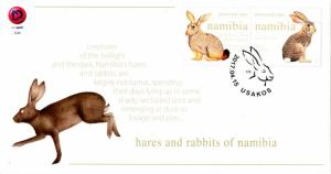 Namibia - 2017 Hares and Rabbits FDC