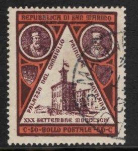 San Marino Scott 30 Used CTO 1894 stamp
