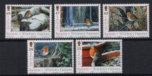ISLE OF MAN - 2004 - BIRDS - ROBINS -