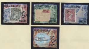 Falkland Islands Stamps Scott #541 To 544, Mint Never Hinged - Free U.S. Ship...