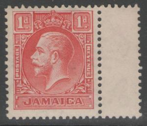 JAMAICA SG108 1929 1d SCARLET DIE I MNH
