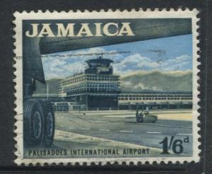 Jamaica -Scott 227 - Definitive Issue -1964 - Used - Single 1/6p Stamp