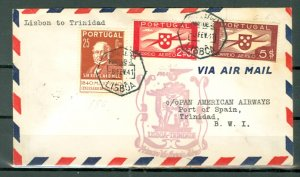 PORTUGAL 1941...3 NICE FIRST FLIGHTS AIR COVER